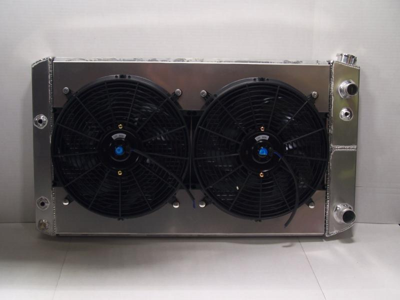 LS C10 RADIATOR AND FANS