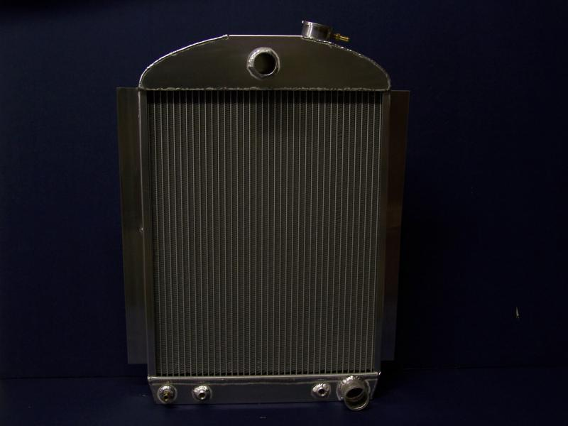 38-39 chevy car radiator